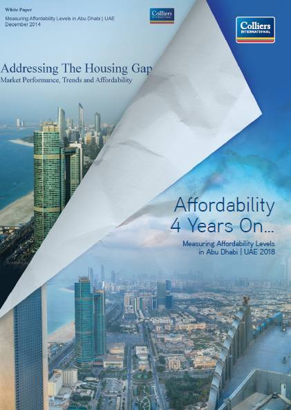 Colliers Affordability's report Cityscape Abu Dhabi 2018